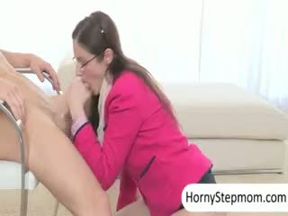 Francesca Le And Chloe Foster Hot Threeway With Young Dick