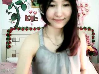cute, webcam, korea