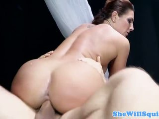 Savannah Fox squirts hard when nailed