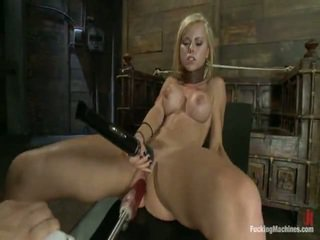 Blonde Anal Bumped Till She Squirts, Her Great Shape Totally Rocked By Machines Onto High, She Does Twofold Exploring And Deep, Mad Spicy Ass Fucking.