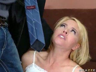 sexo anal, krissy lynn, loira