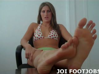 voet fetish, femdom