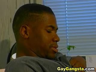 Gay Negro Anal Fucked Hard In His Office