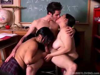 hardcore sex, chubby, group sex