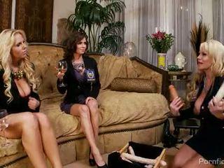 Karen Fisher, Veronica Avluv and Kelly Madison