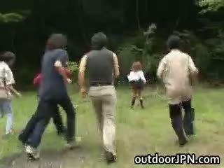 japanese, interracial, publik