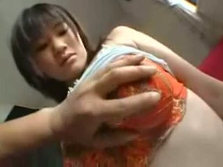 Some Milk From Asian Teen Girlfriend With Big Tits