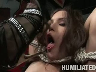 Servitude Doxy Charlotte Vale Is Tied Up And Forced To Suck Big Hard Cock