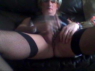 webcam, sólo, masturbácia