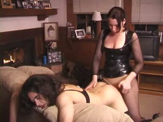 femdom, strapon, maminsynek