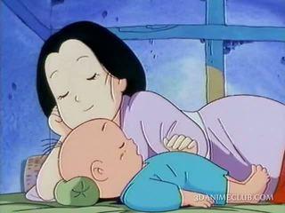 Ištvirkęs anime vyras nailing sunkus jo žmonos putė