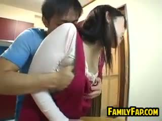 Sexy japonesa paso madre