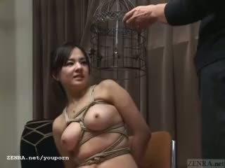 Subtitled japonez cmnf bdsm nose hook bird cusca juca