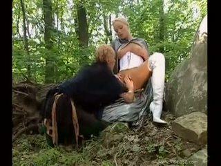 briunetė, oralinis seksas, dvigubai skverbtis