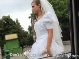 Dumped noiva amirah adara ends para cima fodido em o publc
