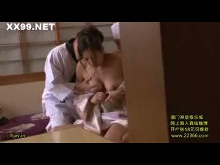 Trẻ vợ ông chủ seduced nhân viên 08