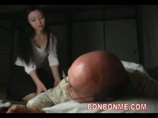 Mom aku wis dhemen jancok fucked by old man 01