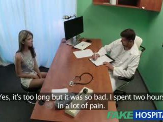 Fakehospital Shy Cute Russian Cured by Cock in Mouth and Pussy Treatment Video