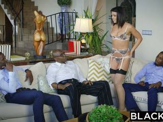 Blacked adriana chechik takes trio no bbcs
