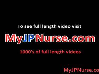 Aki yatoh asiatisch krankenschwester likes ficken
