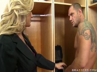 hardcore sex, blondes, blow job