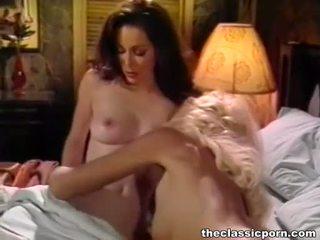 pornostjerner, vintage, lesbisk