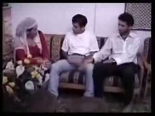 scopata, arabo, casalinga