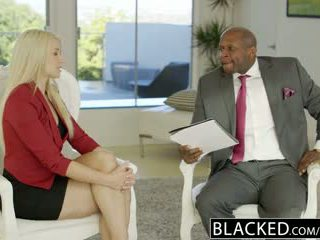 Blacked business pirang anikka albrite bokong fucked by a bbc