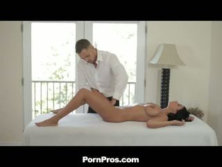 Busty Hottie Gets Massage Before Pussy Poking