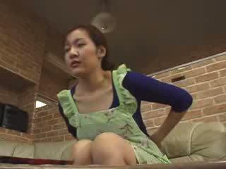 Japanese Lonely Mom Masturbate In Livingroom Video