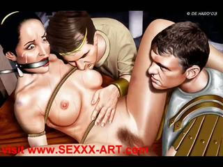 Erotic clasic artworks o thru b