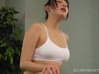 น้ำผึ้ง reiko kobayaka was ไปยัง sexcited สำหรับ petting