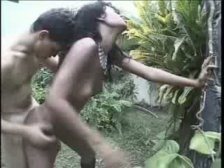 Brésilien fille raped sur son manière maison vidéo