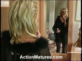 Agatha en rolf leggy mamma binnenin actie