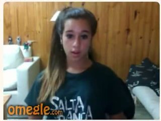 si rambut coklat, remaja, webcam