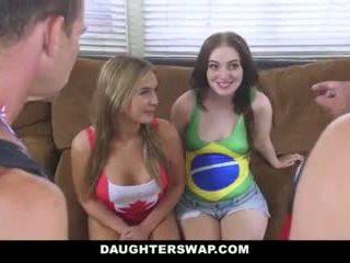 Daughterswap - panas daughters fuck bapa selepas losing bet
