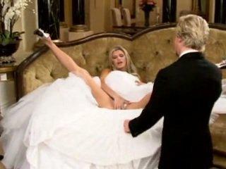 عروس, جميل, أريكة