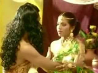 A movie scene from north east, both actor artistang babae handling
