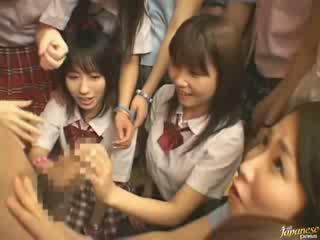 日本の, 女の子, 隣人
