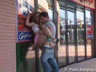 Shopping mall seks