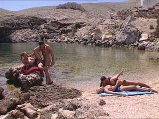 性感 blondes 性交 在 希腊语 island 视频