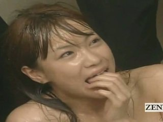 Subtitled Enf Cmnf Crazy Japanese Cum Spattered Teacher