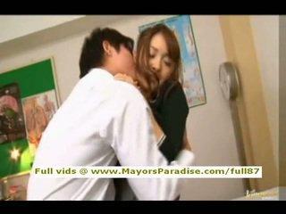 Mihiro od idol69 ázijské násťročné bruneta gets licked