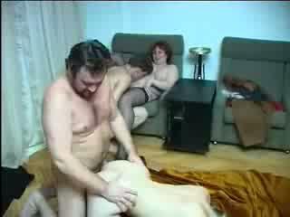 Família incest sexo orgia