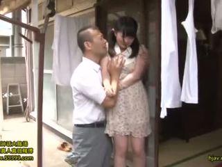 japansk, teens, kyssar