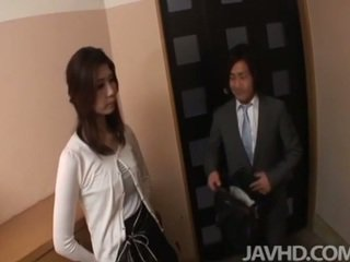 giapponese, femminile amichevole, pompino