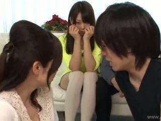 japonec, skupinový sex, výstrek
