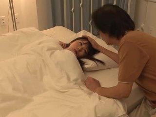 Seks z azjatyckie włochate gal