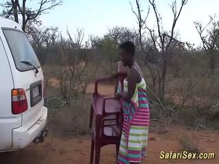Laukinis afrikietiškas safari seksas orgija, nemokamai laukinis seksas hd porno 33