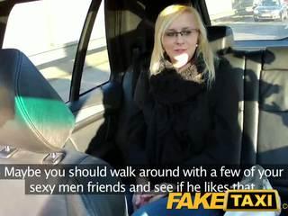 Faketaxi सेक्सी युवा ब्लोंड में payback रिवेंज